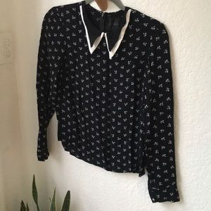 Reformation blouse size M